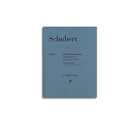 Schubert: Three Piano Pieces Opus post, D946 (Henle Urtext)