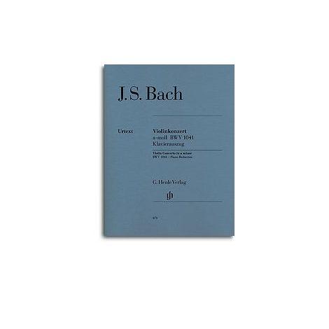 J.S. Bach: Violin Concerto In A Minor BWV 1041 (Henle Urtext)