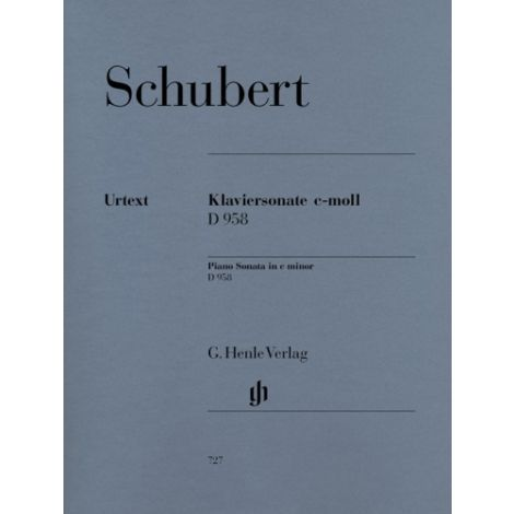 Schubert: Piano Sonata C Minor D 958 (Henle Urtext)