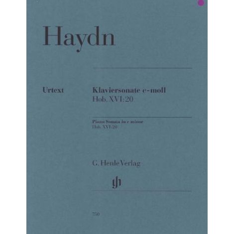 Haydn: Piano Sonata in C Minor Hob. XVI:20 (Henle Urtext)