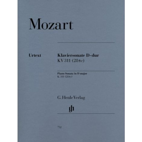 Mozart: Piano Sonata in D major K.311 (284c) (Henle Urtext)
