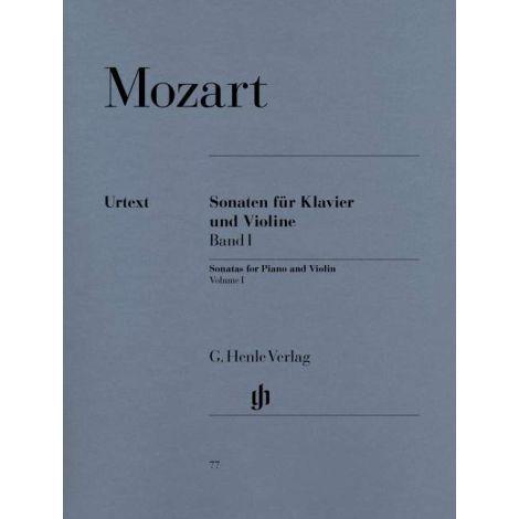 Mozart: Sonatas for Violin and Piano, Vol. 1 (Henle Urtext)
