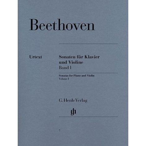 Beethoven: Violin Sonatas - Volume 1, Violin/Piano (Henle Urtext)