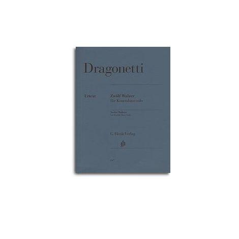 Domenico Dragonetti: Twelve Waltzes Op.67 (Henle Urtext)