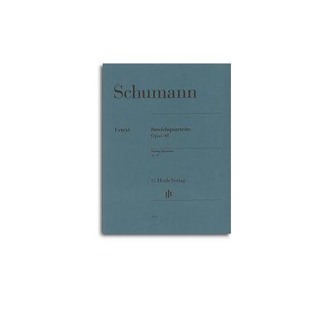 Robert Schumann: String Quartets Op.41 (Henle Urtext)