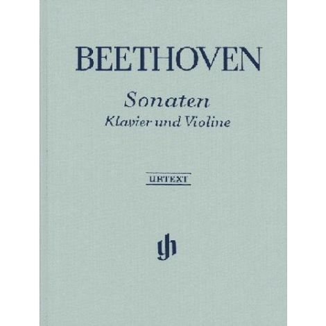 Beethoven Complete Sonatas for Violin and Piano (Hardback) (Henle Urtext)