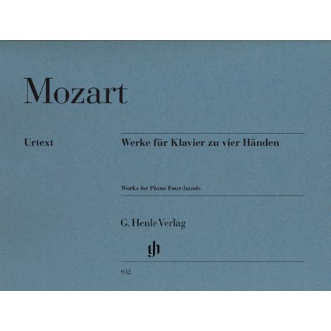 Mozart: Works For Piano Four-Hands (Henle Urtext)