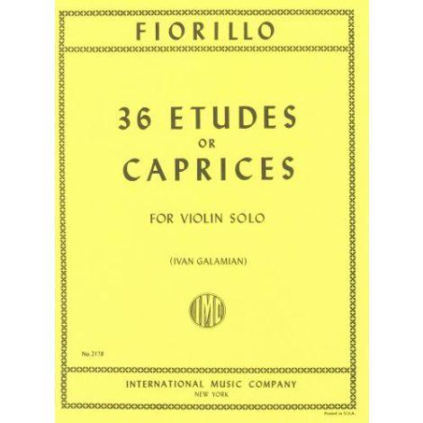 Fiorillo: 36 Etudes or Caprices for Violin Solo (e
