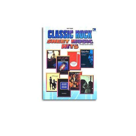 Classic Rock Sheet Music Hits (Easy Piano)