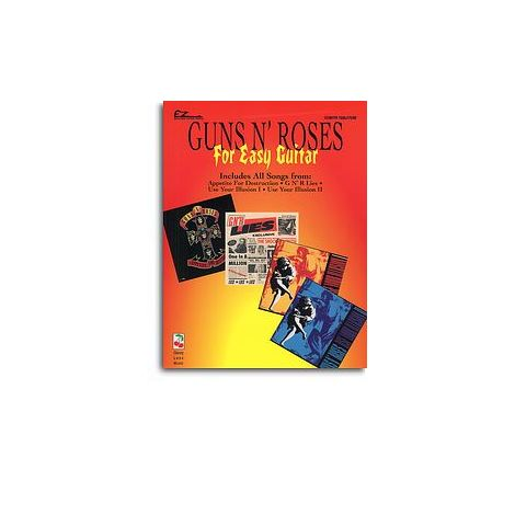 Guns N' Roses For Easy Guitar With Tablature And Riffs