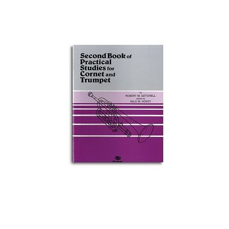 Second Book Practical Studies For Cornet And Trumpet