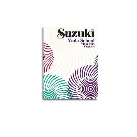 Suzuki Viola School Volume 4 Part