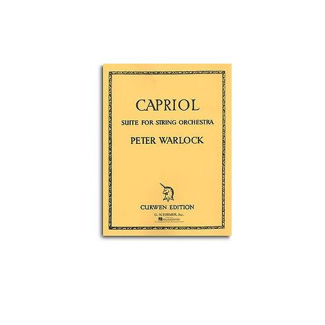 Peter Warlock: Capriol Suite (Score And Parts)