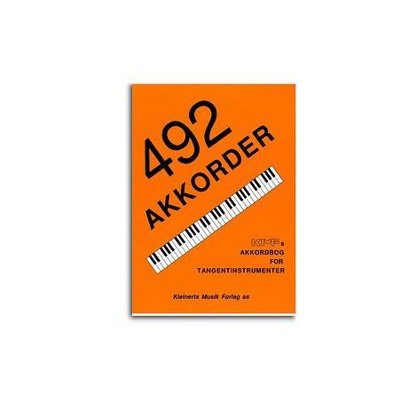 492 Akkorder - Akkordbog For Tangentinstrumenter (Piano/Keyboard)