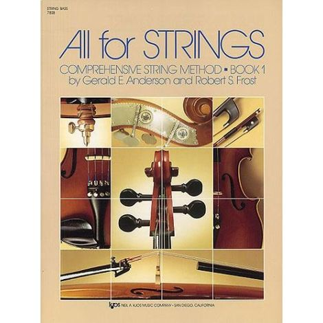 All for Strings Book 1 - Double Bass