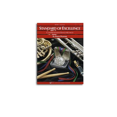 Standard Of Excellence: Comprehensive Band Method Book 1 (Bassoon)