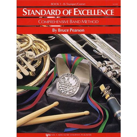 Standard Of Excellence: Comprehensive Band Method Book 1 (B Flat Trumpet/Cornet)