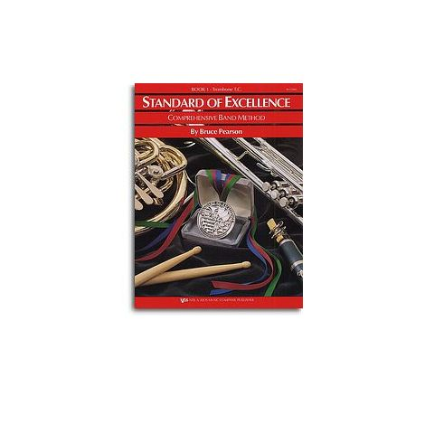 Standard Of Excellence: Comprehensive Band Method Book 1 (Trombone Treble Clef)