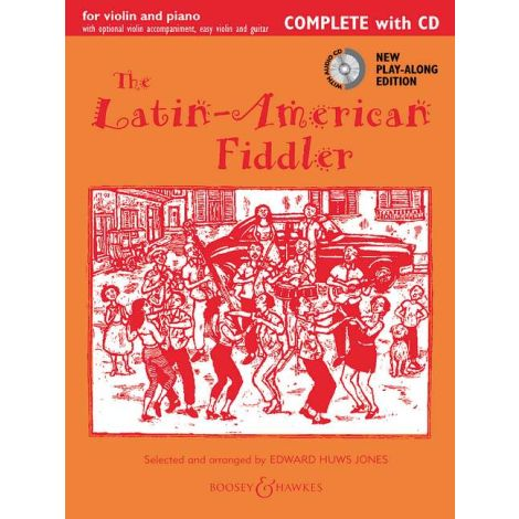 Latin-American Fiddler Repackage (Complete + CD)