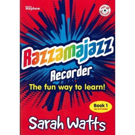 Razzamajazz Recorder - Book 1 (with CD) Revised Edition