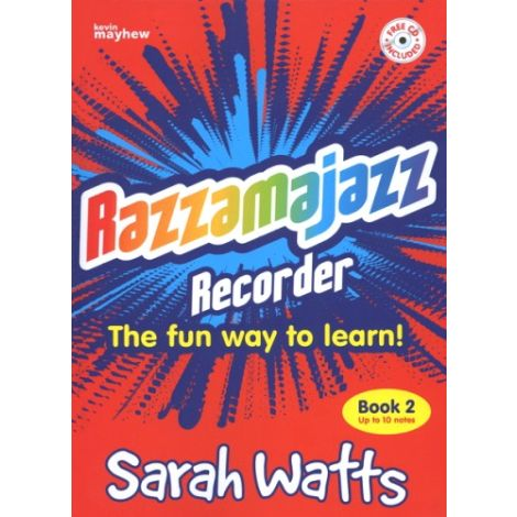 Razzamajazz Recorder - Book 2 (with CD) Revised Edition