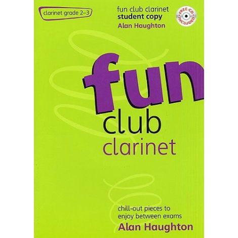 Fun Club Clarinet - Grade 2-3 (Students Copy) with CD