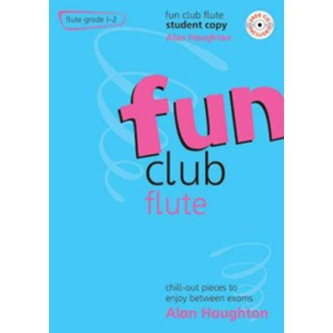 Fun Club Flute - Grade 1-2 (Students Copy) with CD