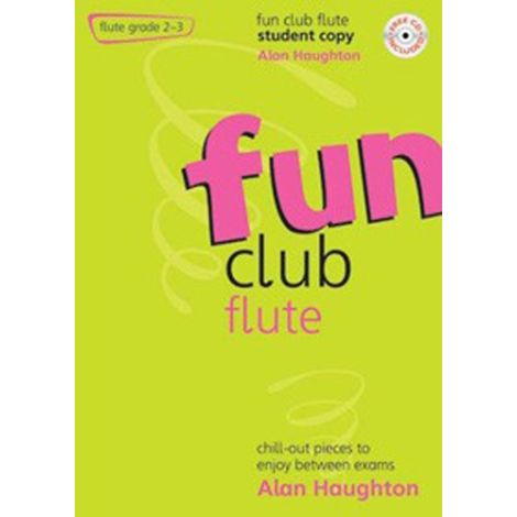 Fun Club Flute - Grade 2-3 (Students Copy) with CD