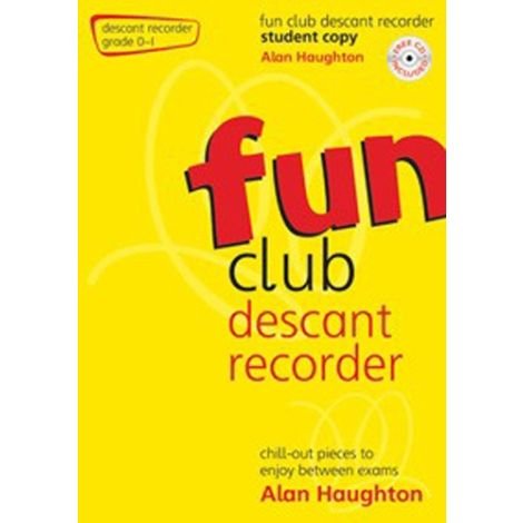 Fun Club Descant Recorder - Grade 0-1 (Students Copy) with CD