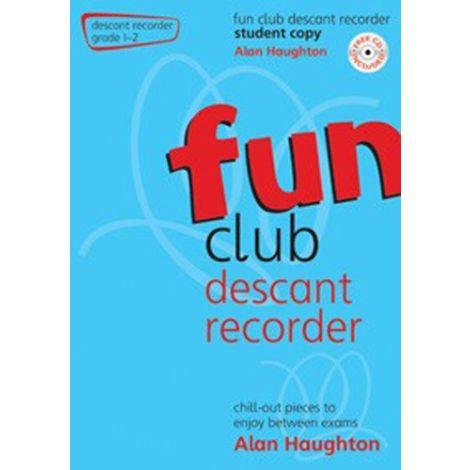Fun Club Descant Recorder - Grade 1-2 (Students Copy) with CD