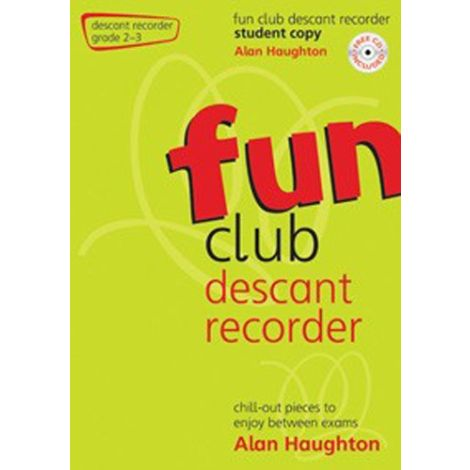 Fun Club Descant Recorder - Grade 2-3 (Students Copy) with CD