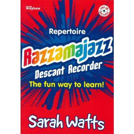 Razzamajazz Repertoire - Descant Recorder (with CD)