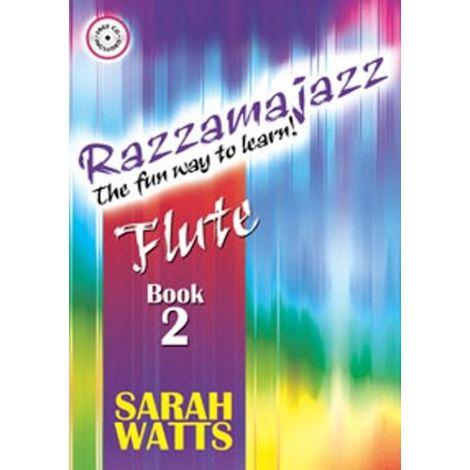 Razzamajazz Flute Book 2 (Book/CD)