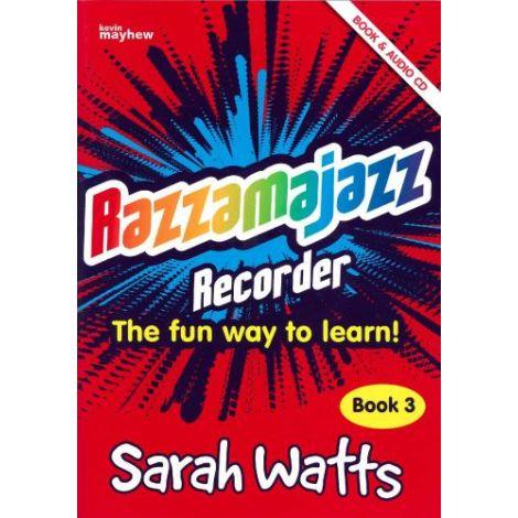 Razzamajazz Recorder - Book 3 (with CD)