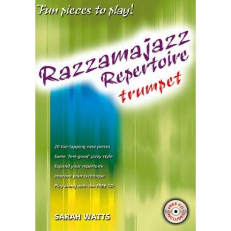 Razzamajazz Repertoire Trumpet (Book & CD)