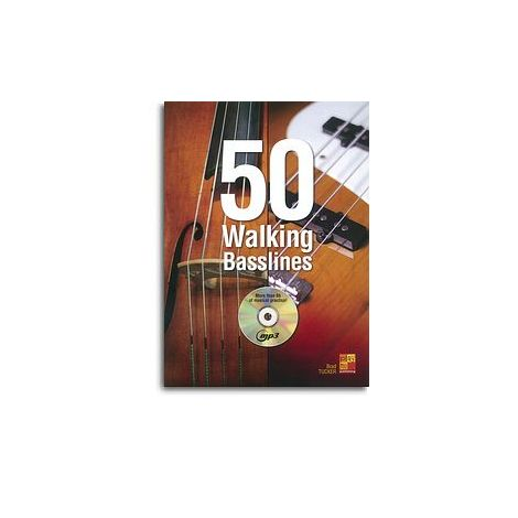 Brad Tucker: 50 Walking Basslines (Book/CD)