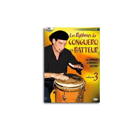 Rythmes du Conguero et le Batteur (Les), Volume 3