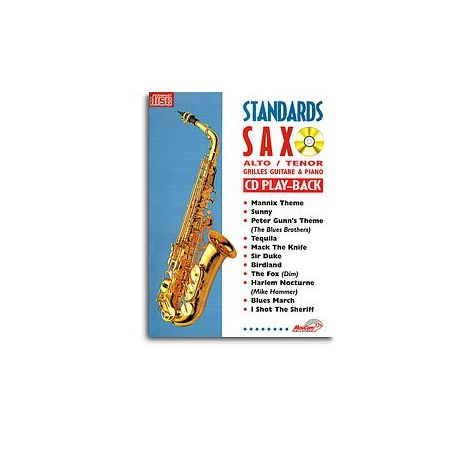 Standards Saxo  Alto et T闂佽偐鍘у畷绺猺
