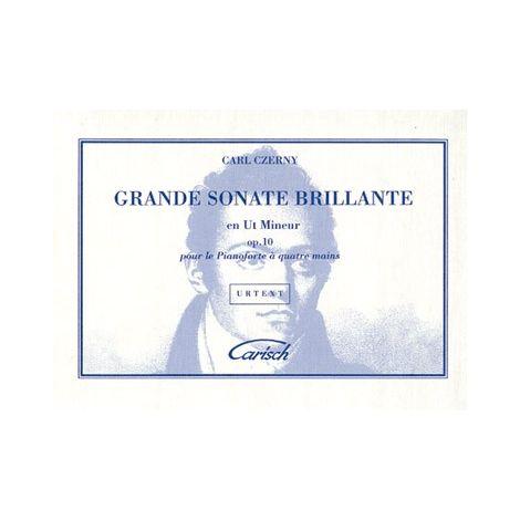Carl Czerny: Grande Sonate Brillante en Ut Mineur Op.10 pour Piano 闂 4 Mains
