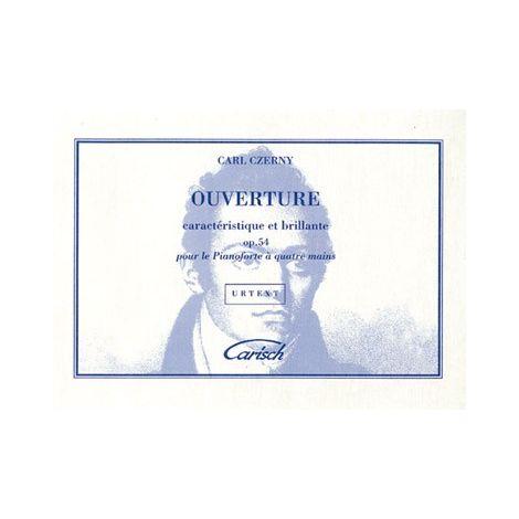 Carl Czerny: Ouverture Caract闂佽偐鍘у畵鎭憇tique et Brillante Op.54 pour Piano 闂 4 Mains