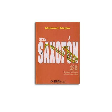 El Saxof闁荤姵鍔楅悵, Volumen 2B (2 Trimestre)