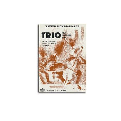 Xavier Montsalvatge: Tr闂備焦鍎抽弨, para Viol闂備焦鍎抽弨, Violoncello, Piano