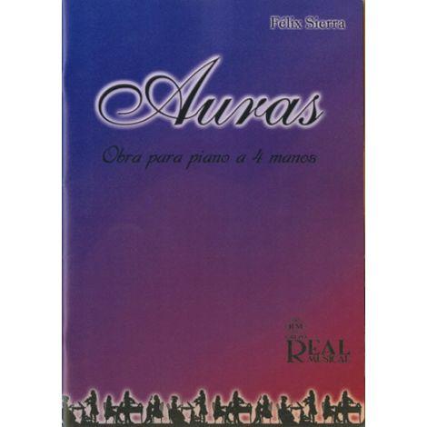 F闂佽偐鍘у畷绛皒 Sierra: Auras, Obra para Piano a 4 Manos