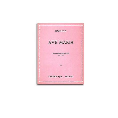 Charles Gounod: Ave Maria, per Mezzo-Soprano o Baritono