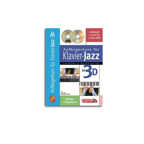 Anf闂佺儵鏅濋悘鎭巈rkurs f闂佹眹鈧 Klavier-Jazz in 3D