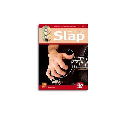 Rosendo Slap En Bajo Bgtr Bk/Cd/Dvd