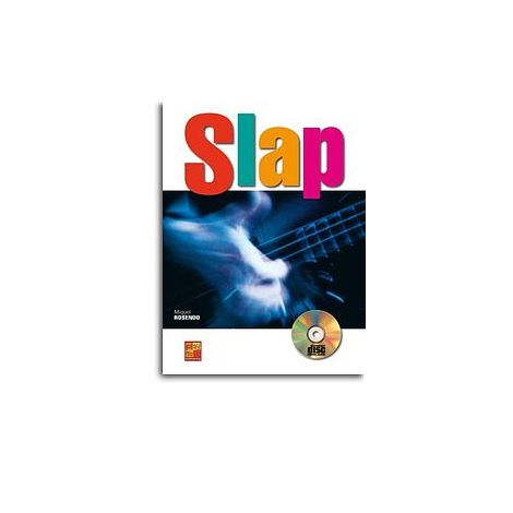 Rosendo Slap Bgtr Bk/Cd