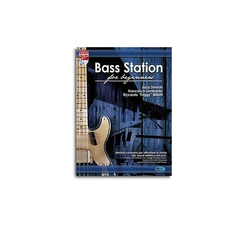 Bass Station Beginners Bgtr Bk/Cd