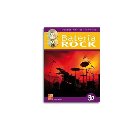 Bateria Rock Drums 3d Bk/Cd/Dvd