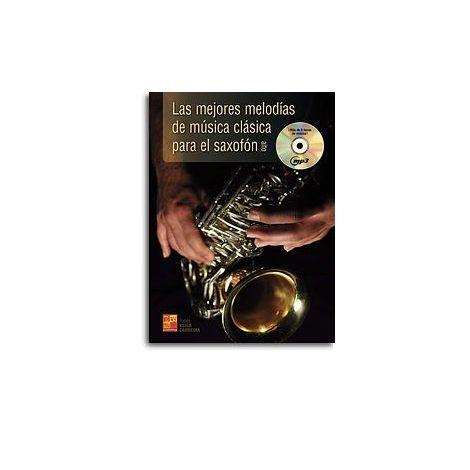 Mejores Melodias Clasica Sax Bk/Cd